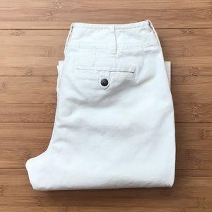 Ann Taylor Loft Off White Wide Leg Pants Size 6P